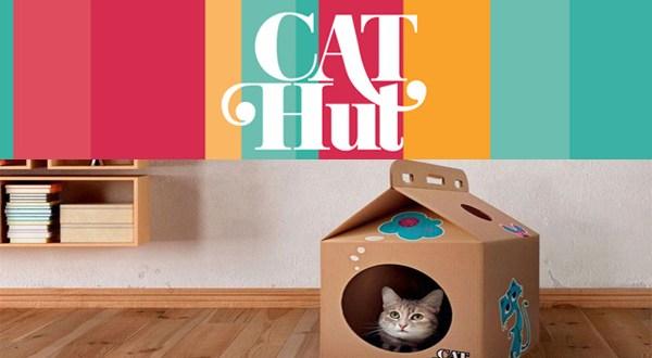 Cathut, la caja más exclusiva para tu gato a la venta online