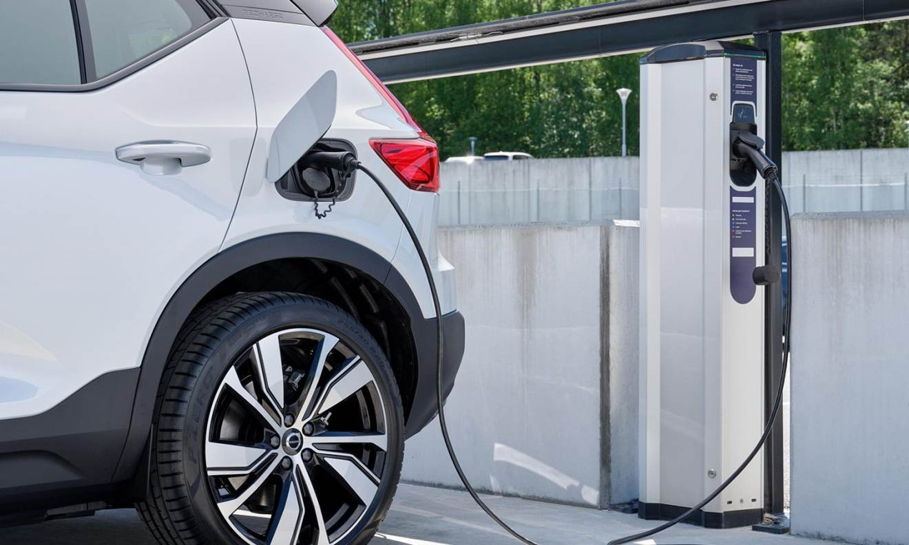 Infrastructure electric charging points