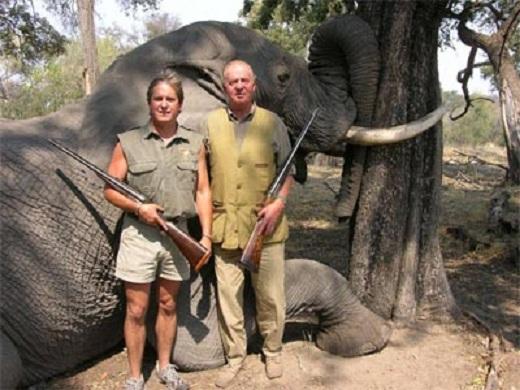 El rey exige licencia para cazar en Colombia a cambio de exención de visados