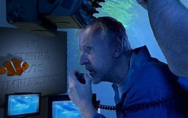 A Cameron el submarinismo siempre lo ha hecho sentir como pez en el agua.