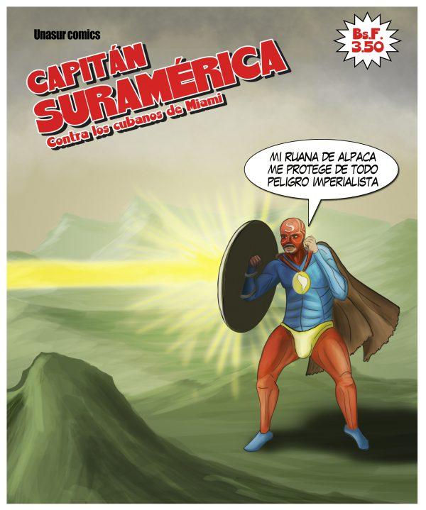 El Capitán Suramérica se enfrentará a los cubanos de miami en su primera edición.