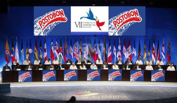 Varios paises han protestado porque en la cumbre sólo se venderán productos postobón
