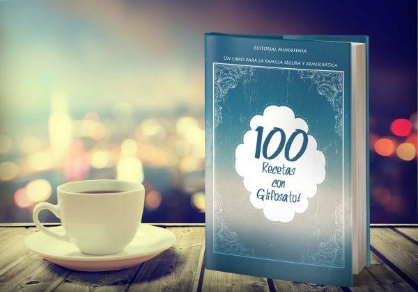 100 recetas con Glifosato es el libro de mayor venta en el stand de las fuerzas militares en la feria del libro.
