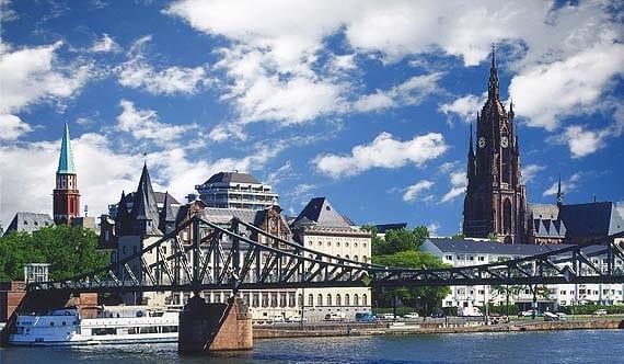 Eiserner Steg, el puente de hierro de Frankfurt