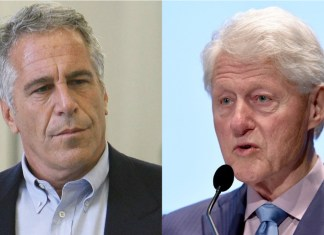 Jeffrey Epstein y Bill Clinton.