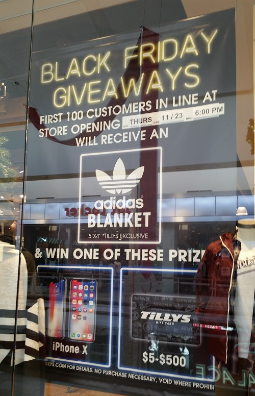 1db4a5fa14 Be one of the first 100 people in line at 6 pm on Thursday and receive an  adidas blanket