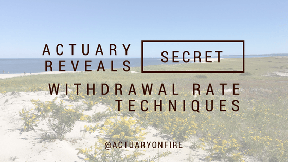 Actuary reveals secret withdrawal rate techniques