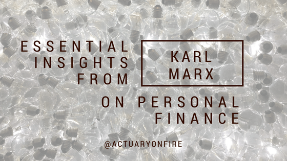Essential insights from Karl Marx on personal finance