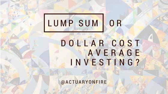 Lump Sum or Dollar Cost Average Investing? Part 1