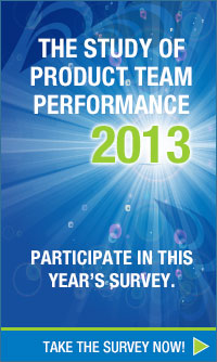 Participate in the 2013 Study of Product Team Performance