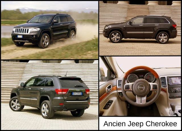 Montage ancien Jeep Cherokee (2011)