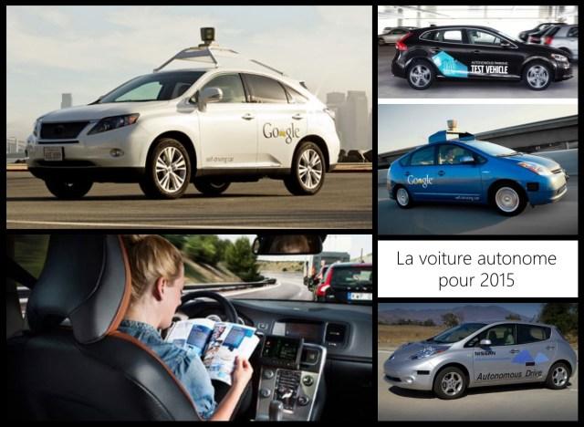 La voiture autonome pour 2015