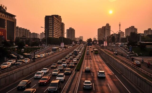 Pékin, photographié par Erdenebayar