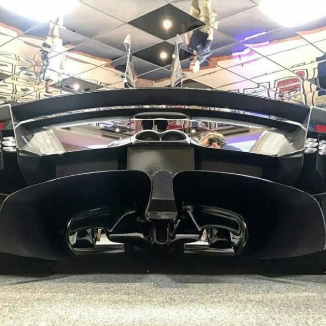 Echappement Aston Martin Valkyrie