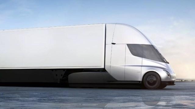 2019 Tesla Semi camion