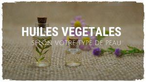 Mettez de l'huile végétale sur votre peau !