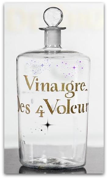 You are currently viewing Le Vinaigre des 4 voleurs va faire disparaître votre grippe
