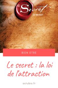 Read more about the article Connaissez vous «le secret» ?