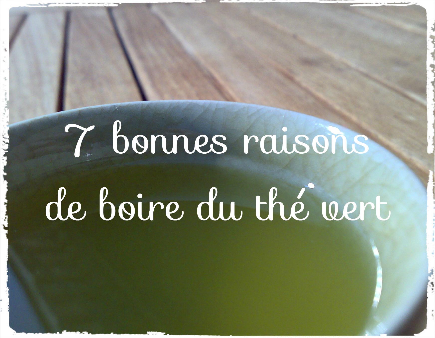 You are currently viewing 7 bonnes raisons de boire du thé vert