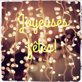 You are currently viewing Joyeuses fêtes!