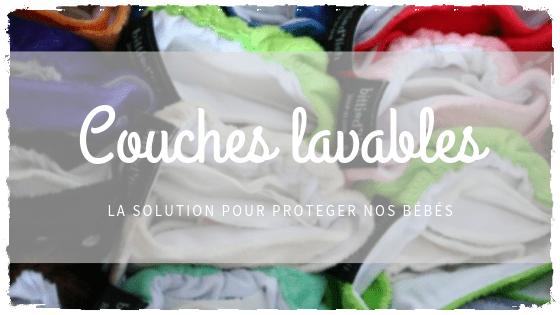 Couches lavables adaptables :  alternative écologique et économique