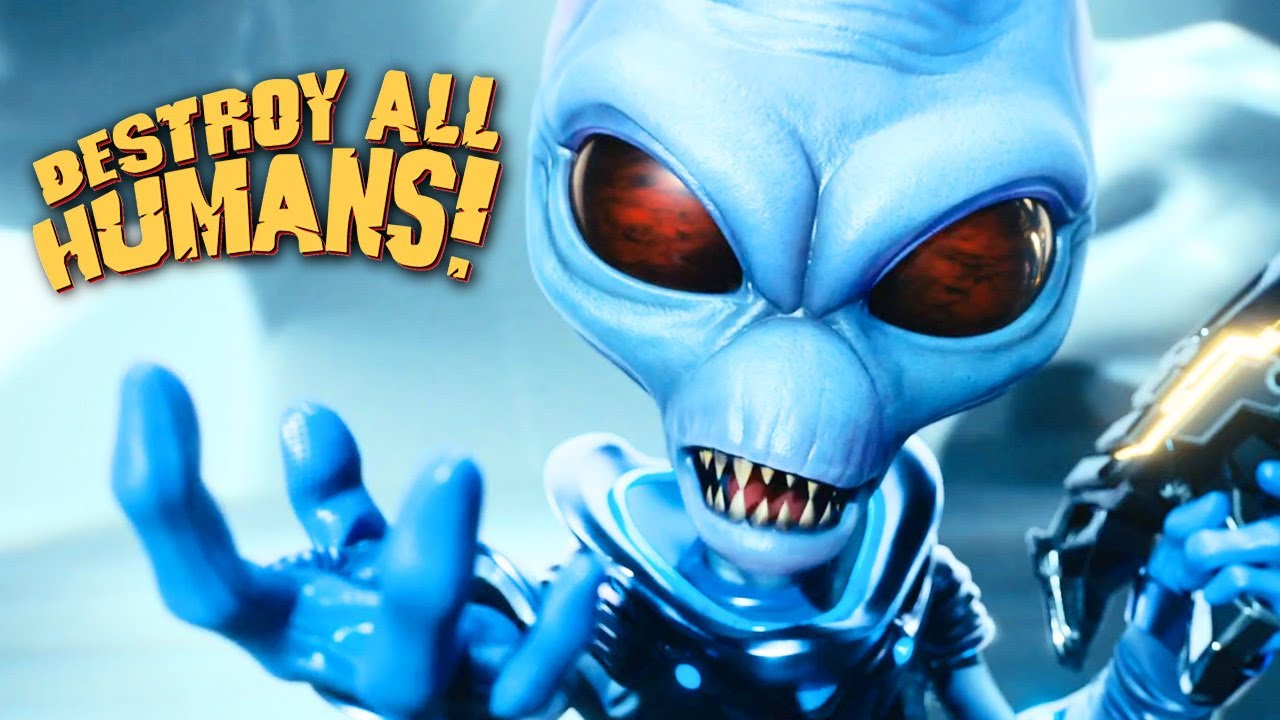 Un court trailer pour Destroy All Humans!