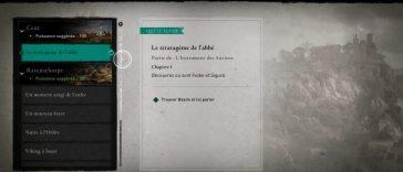Le stratagème de l'abbé – Assassin's Creed Valhalla