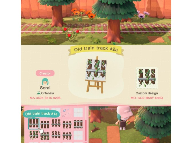 Conceptions de chemins personnalisés Animal Crossing: New Horizons
