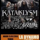 Kataklysm + Krisiun + Fleshgod Apocalypse @ la Dynamo