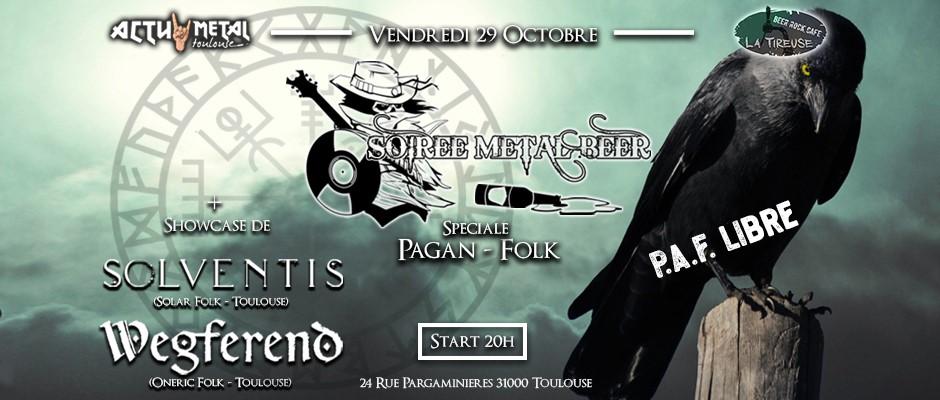 Soirée Metal Beer «Pagan Folk»