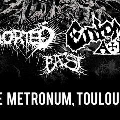 ENTOMBED AD + ABORTED + BAEST @u Metronum