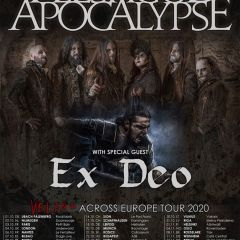 FLESHGOD APOCALYPSE + EX DEO @u Metronum