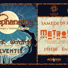 AEPHANEMER + DARK OATH + SOLVENTIS @u Metronum