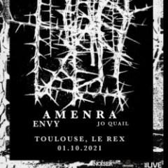 AMENRA + ENVY + JO QUAIL @u Rex