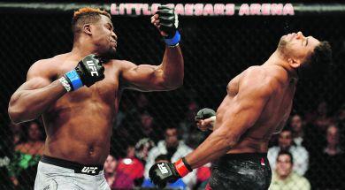 UFC 218: Overeem v Ngannou