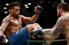 MMA: UFC Fight Night-Brooklyn-Hardy vs Crowder