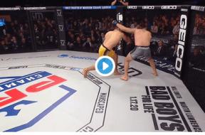 Emiliano Sordi TKO PFL Final 2019 Capture