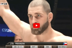 Jiri Prochazka highlight video capture