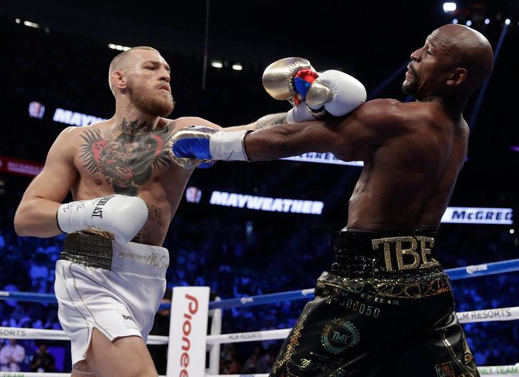 Mayweather veut bien donner une revanche à McGregor