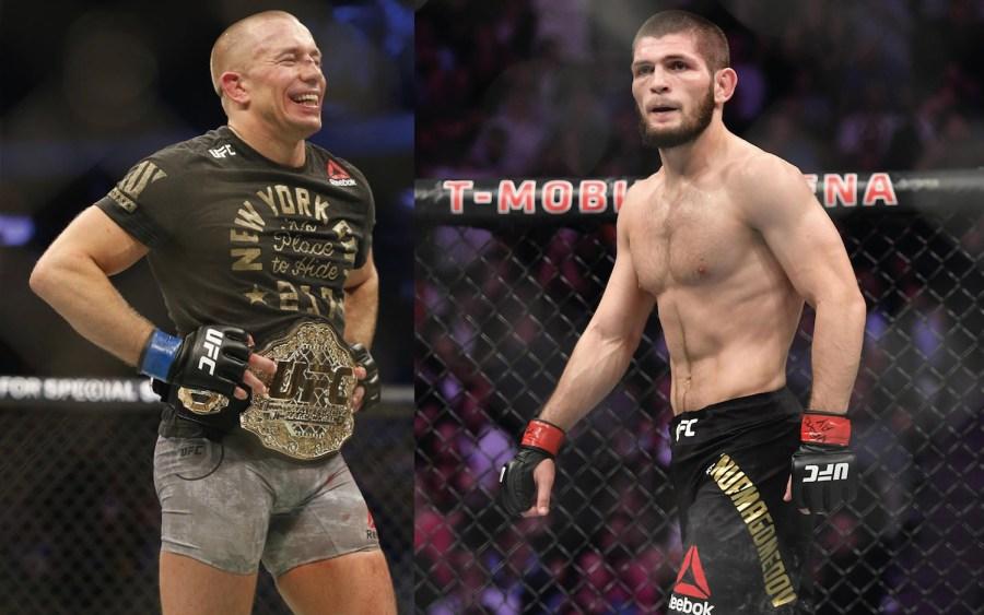 Khabib vs GSP à l'UFC