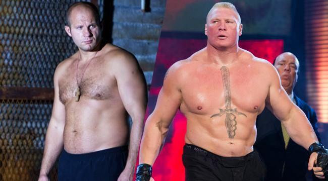 Le Bellator veut faire un combat Lesnar vs Fedor