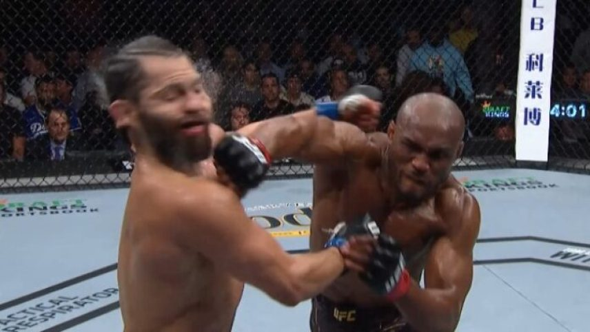 jorge masvidal reaction KO