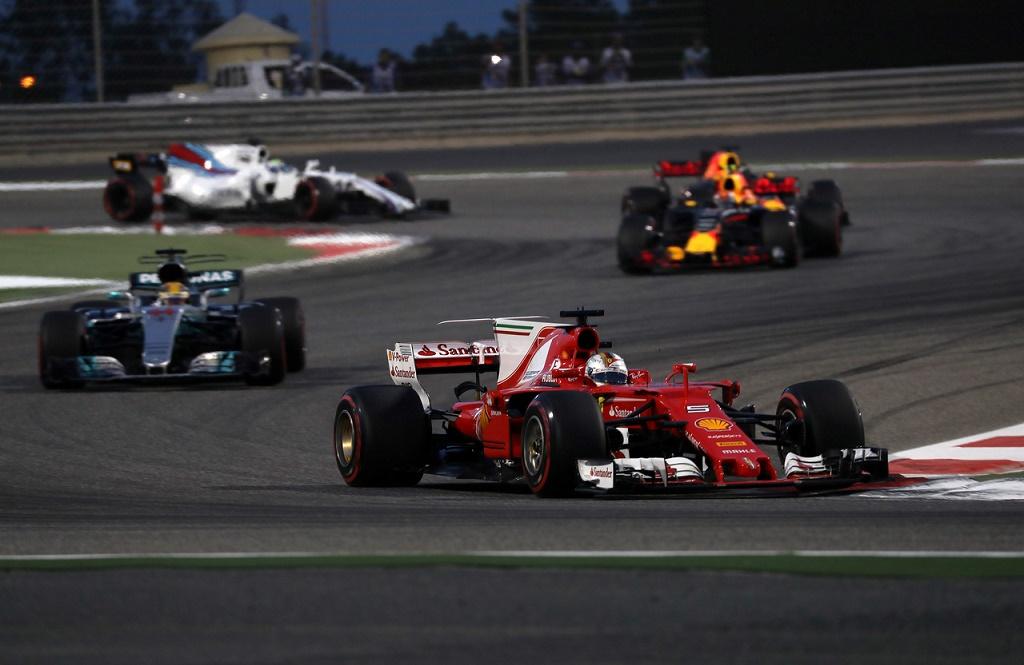 16.04.2017 - Race, Sebastian Vettel (GER) Scuderia Ferrari SF70H