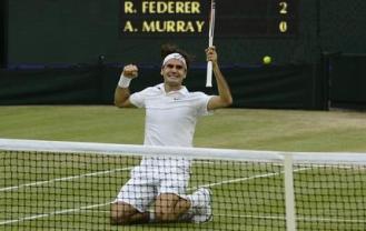 Roger Federer victorieux à Wimbledon (2012)