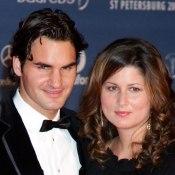 Roger Federer et Mirka Federer