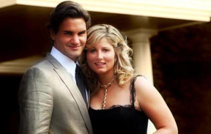 Couple Mirka et Roger Federer amour