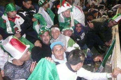 Supporter Algérie