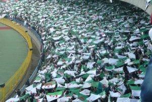 Supporters Agérie dans tribune