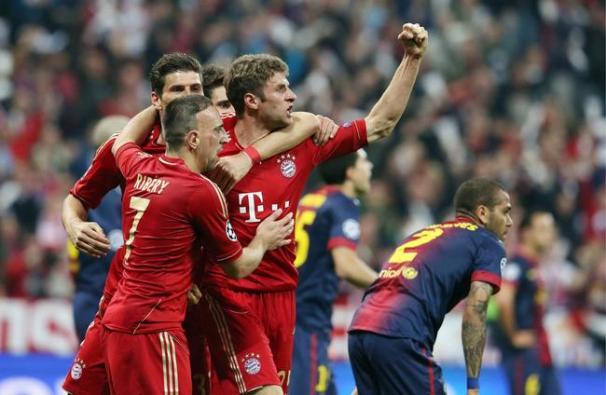 Barcelone-Bayern Munich streaming ribéry