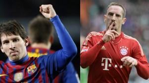 Lionel Messi vs Frank Ribéry Bayern Barça